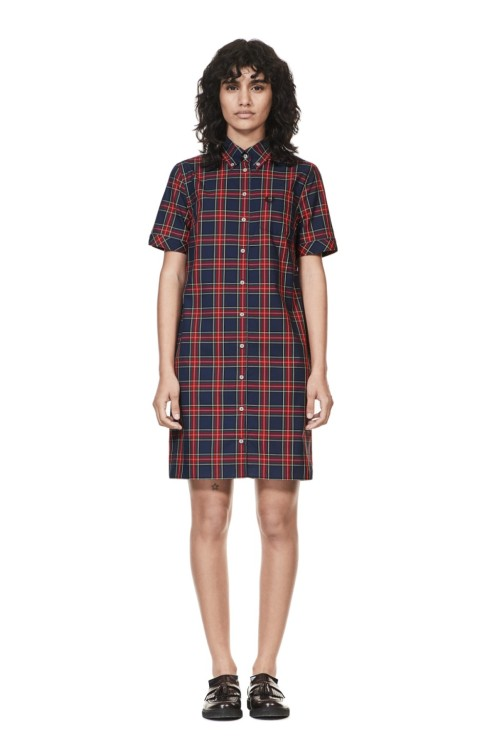Fred Perry shirt dress