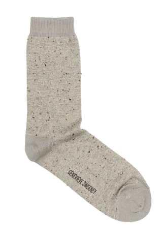 Genevieve Sweeney beige socks
