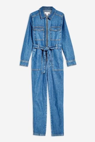 Topshop denim boiler suit