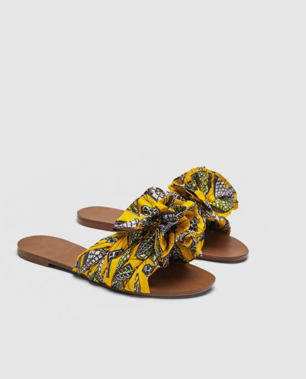 a2bea22a5 Zara fabric slides – En Brogue
