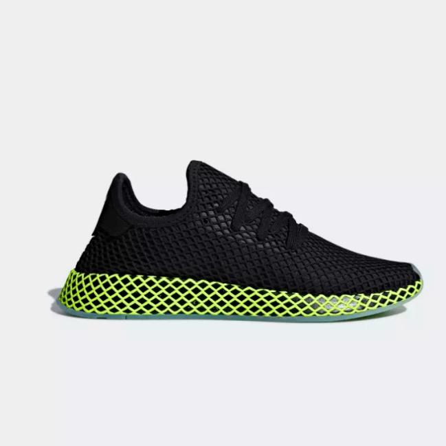 adidas Deerupt black green