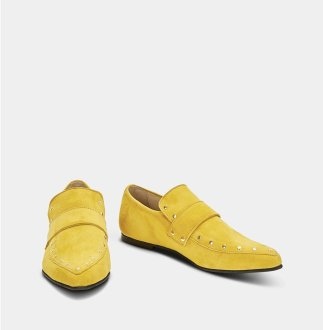 Ivy Lee mustard loafers