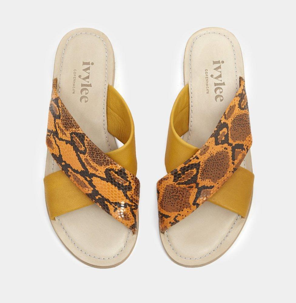 Ivy Lee snake sandals