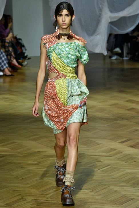 Preen by Thornton Bregazzi London Fashion Week Spring Summer 2019 London September 2018