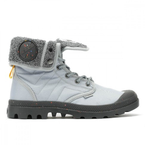 Christopher Raeburn x Palladium grey boot