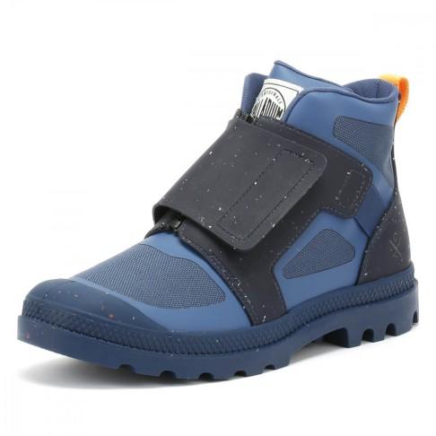 Christopher Raeburn x Palladium velcro boots
