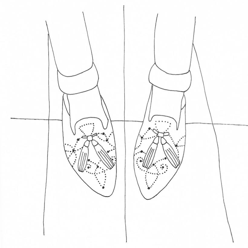 En Brogue loafers